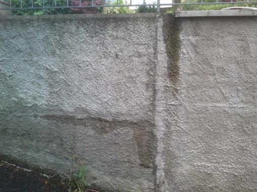 Feuchtigkeit-Wand