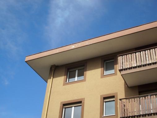 Kondominium-Bestand-Dach